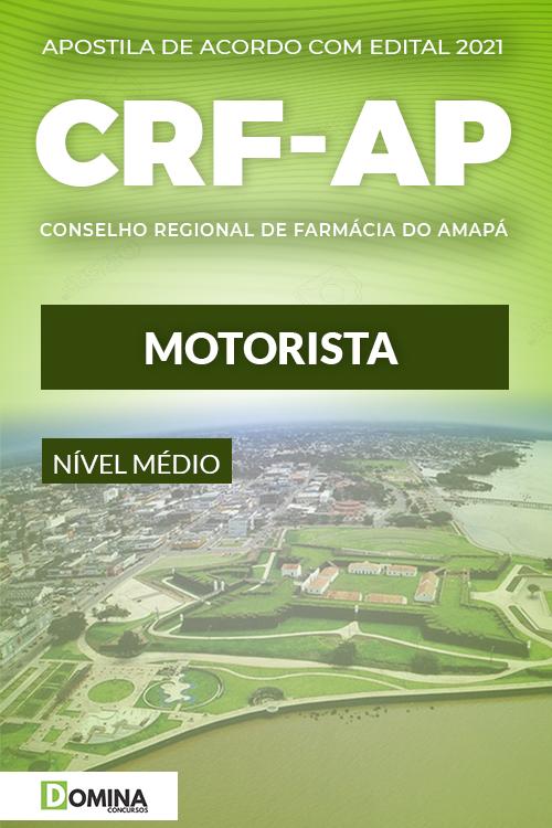 Apostila Concurso CRF AP 2021 Motorista Quadrix
