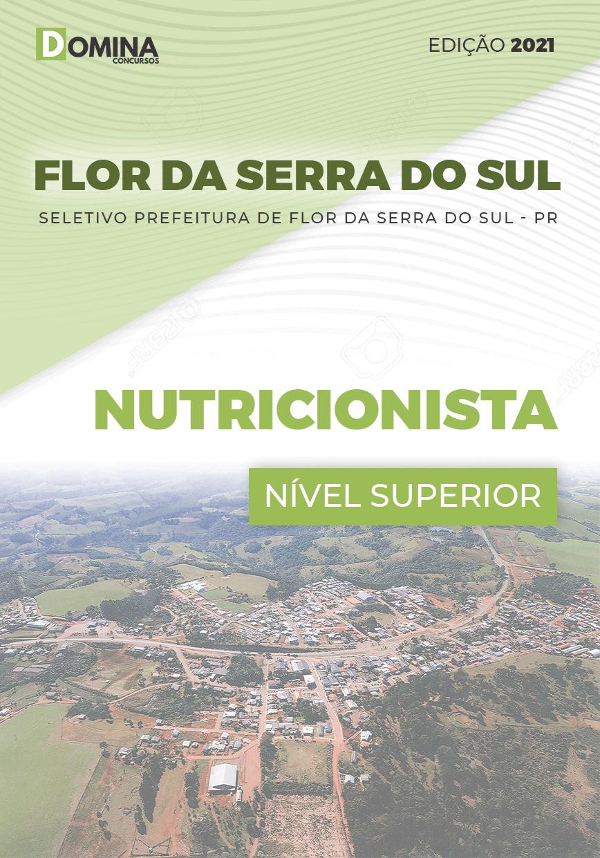 Apostila Seletivo Pref Flor Serra Sul PR 2021 Nutricionista