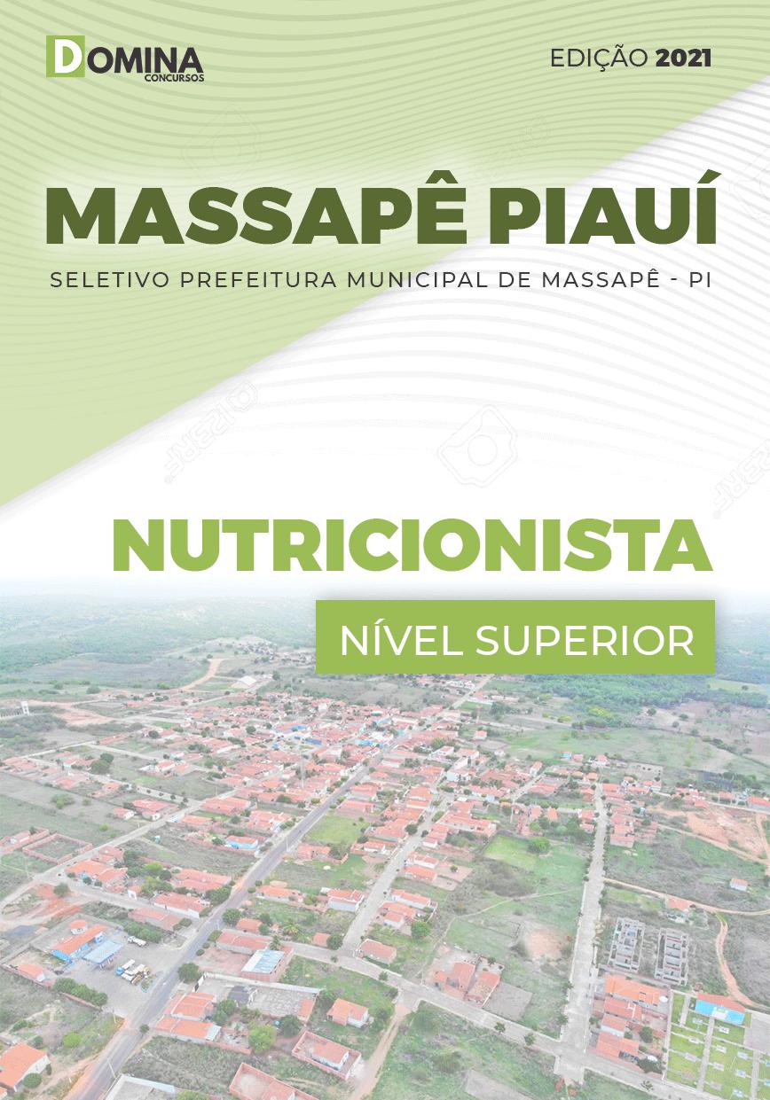 Apostila Seletivo Pref Massapê Piauí PI 2021 Nutricionista