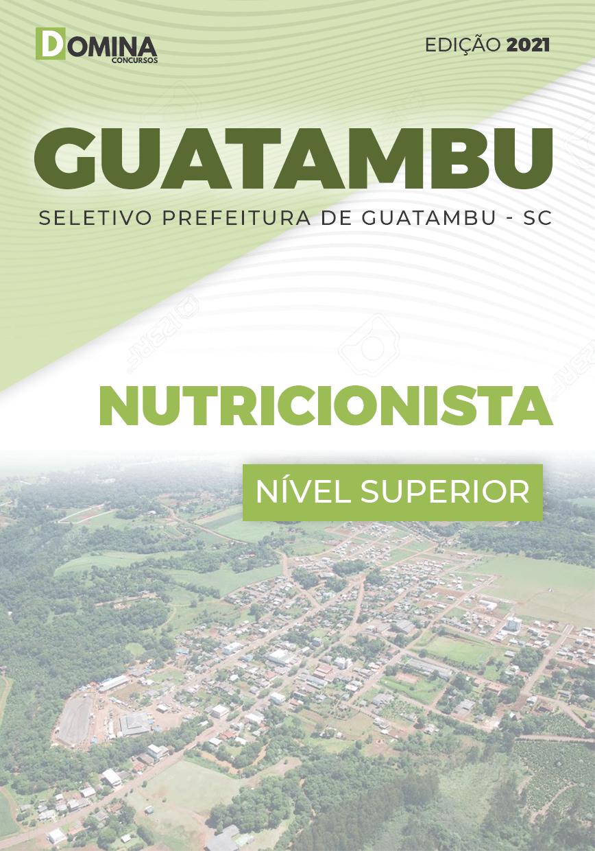 Apostila Concurso Guatambu SC 2021 Nutricionista