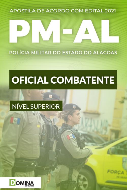 Apostila Concurso PM AL 2021 Oficial Combatente Cebraspe