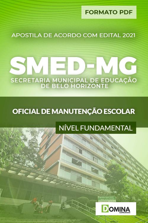 Apostila Seletivo SMED MG 2021 Oficial de Manutenção Escolar