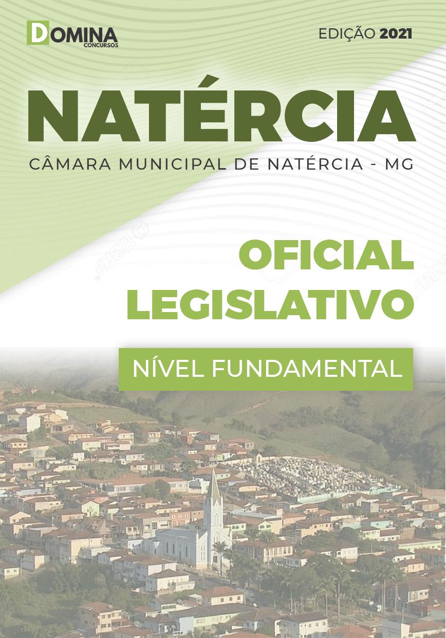 Apostila Câmara Natércia MG 2021 Oficial Legislativo