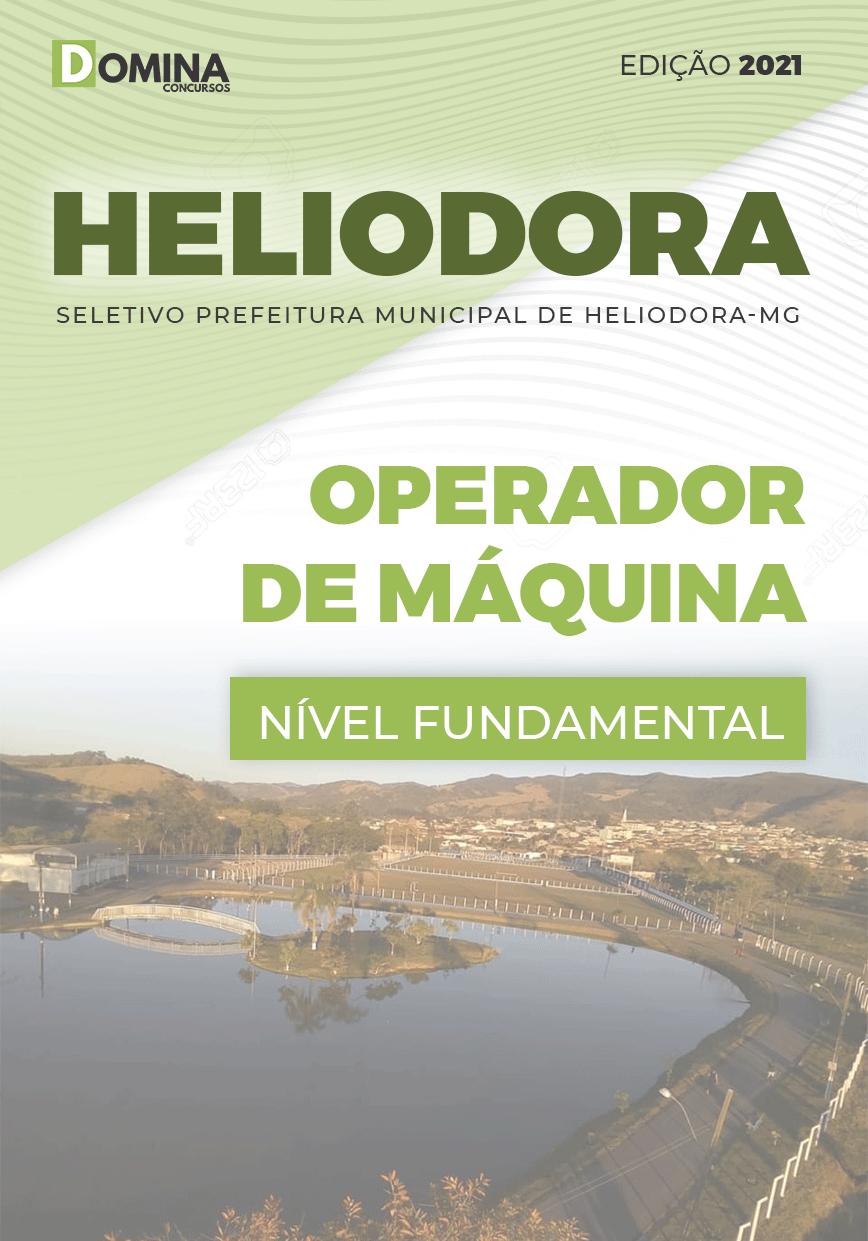 Apostila Concurso Pref Heliodora MG 2021 Operador de Máquina