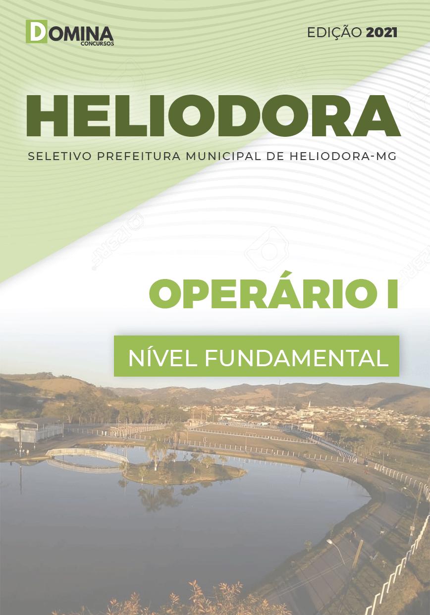 Apostila Concurso Pref Heliodora MG 2021 Operário I