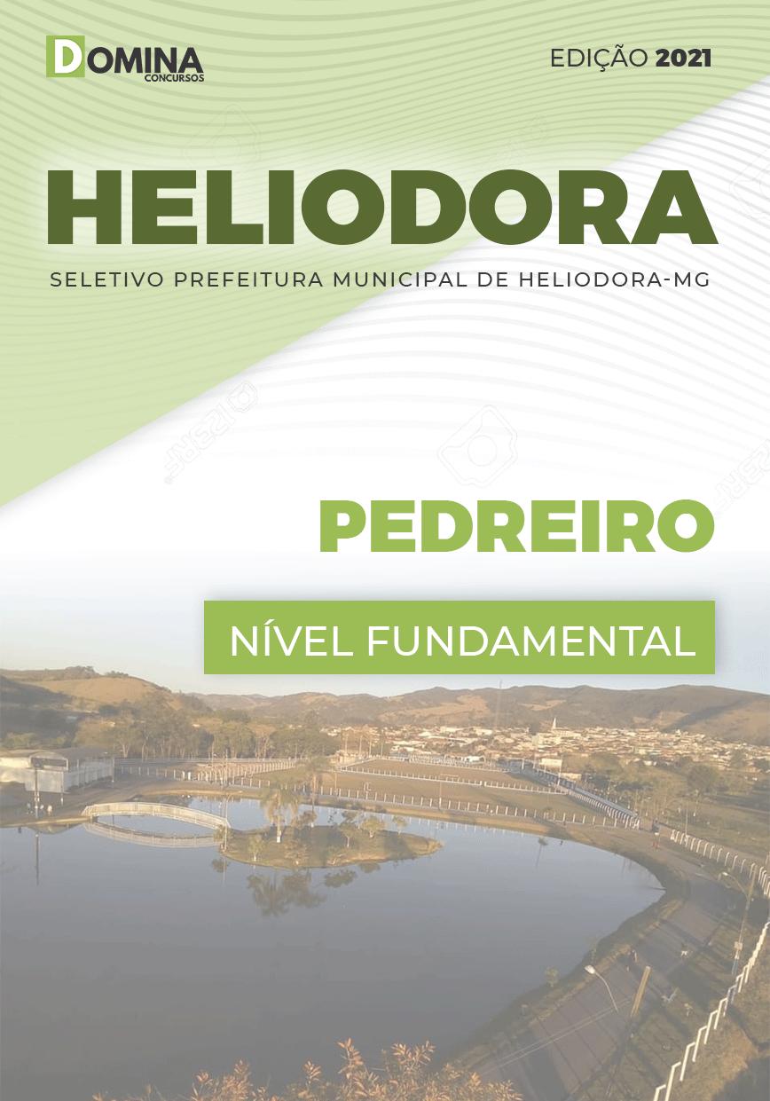 Apostila Concurso Pref Heliodora MG 2021 Pedreiro