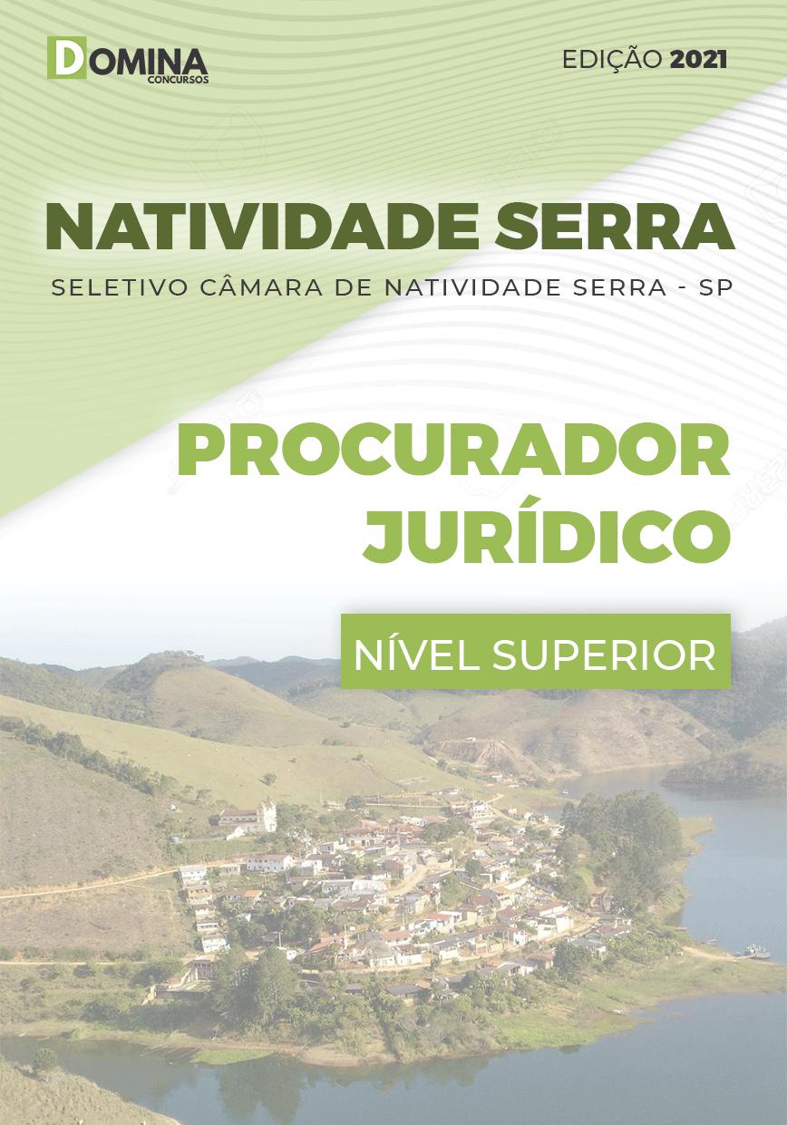 Apostila Câmara de Natividade da Serra 2021 Procurador Jurídico