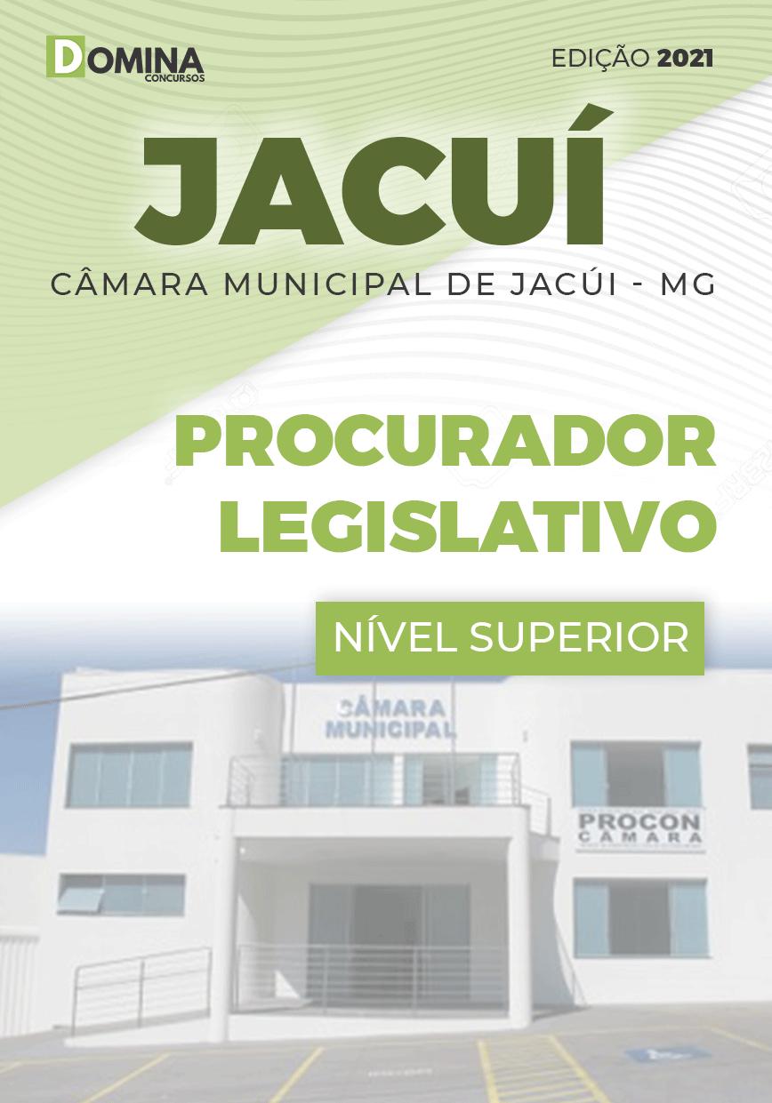 Apostila Câmara Jacuí MG 2021 Procurador Legislativo