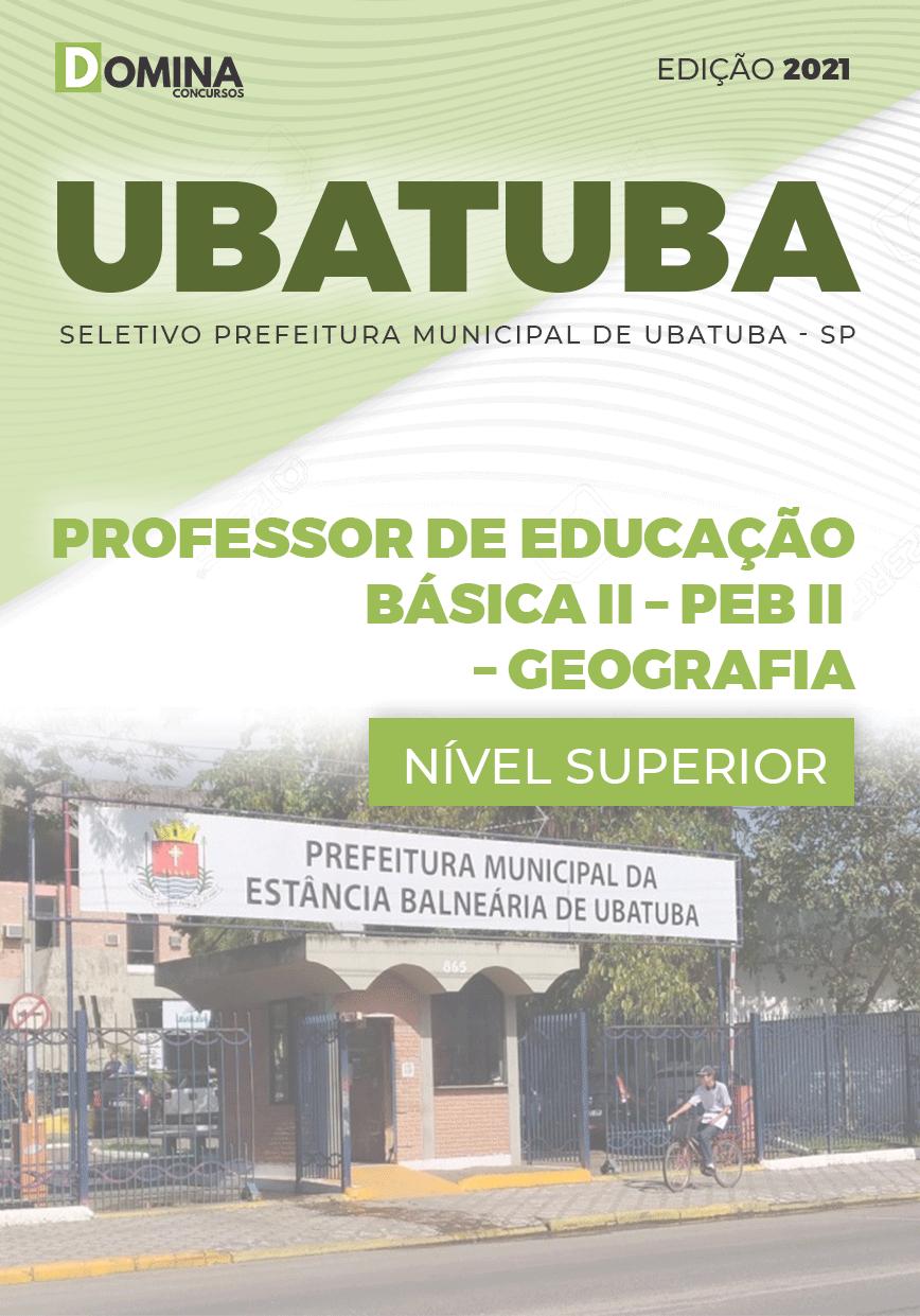 Apostila Pref Ubatuba SP 2021 Prof Educação Básica II Geografia