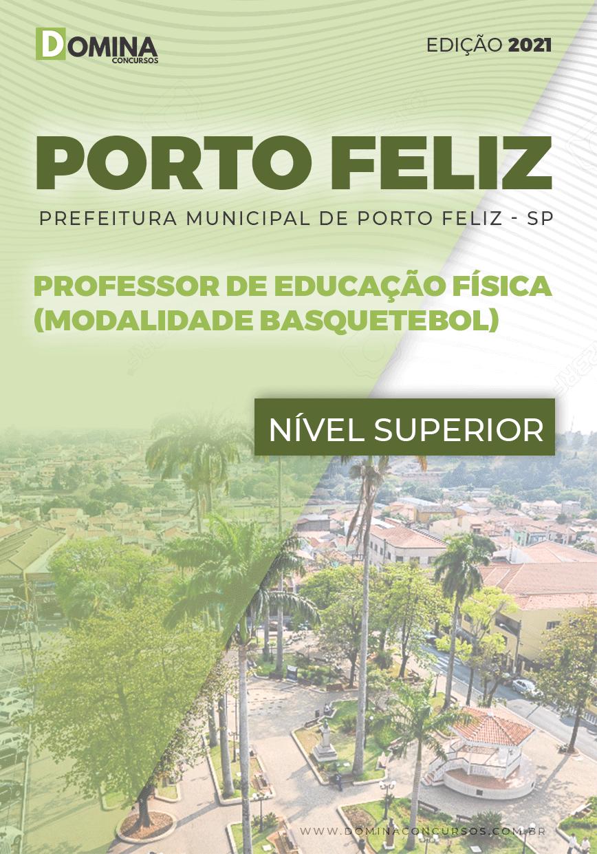 Apostila Pref Porto Feliz SP 2021 Prof Educação Física Basquetebol