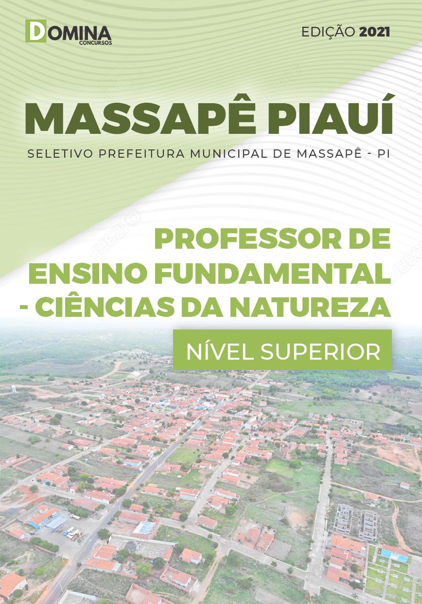 Apostila Pref Massapê Piauí PI 2021 Professor Ciências da Natureza