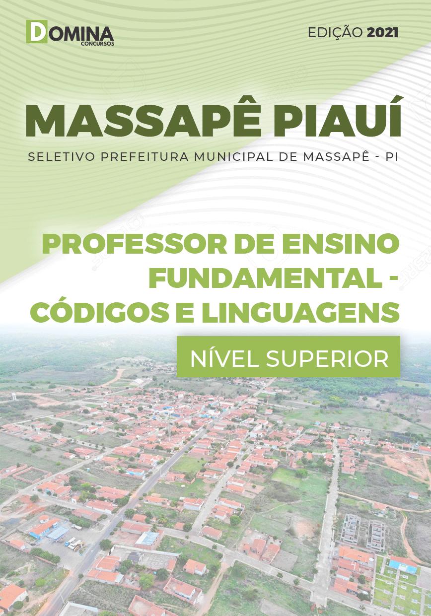 Apostila Pref Massapê Piauí PI 2021 Professor Códigos e Linguagens