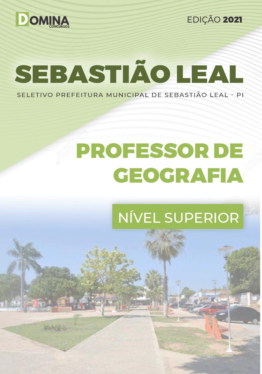 Apostila Pref Sebastião Leal PI 2021 Professor de Geografia