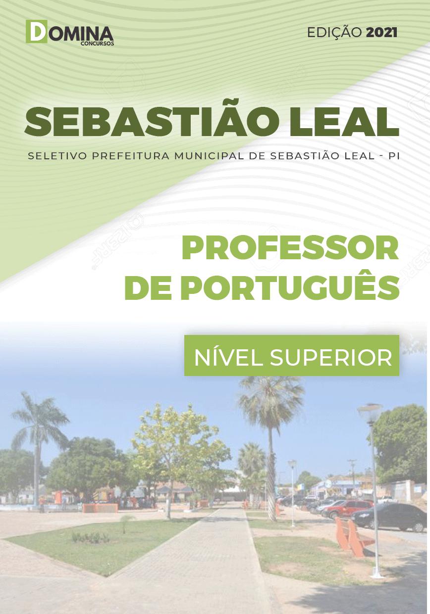 Apostila Pref Sebastião Leal PI 2021 Professor de Português