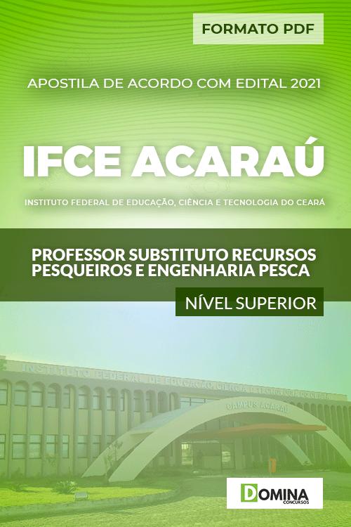 Apostila IFCE Aracaú 2021 Professor Substituto Engenharia Pesca