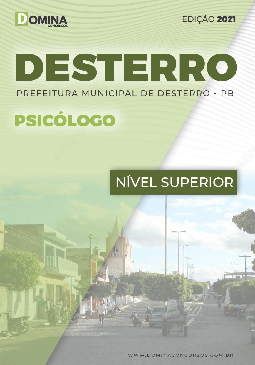 Apostila Concurso Público Pref Desterro PB 2021 Psicólogo