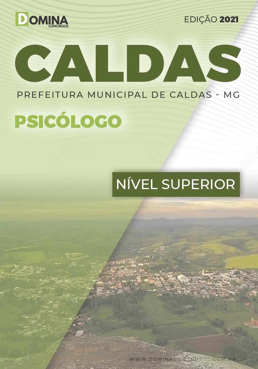 Apostila Concurso Público Pref Caldas MG 2021 Psicólogo