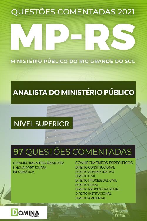 Questões Comentadas MP RS 2021 Analista do Ministério Público