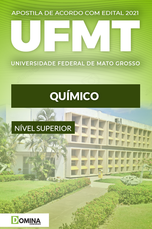 Apostila Concurso Público Material UFMT 2021 Químico