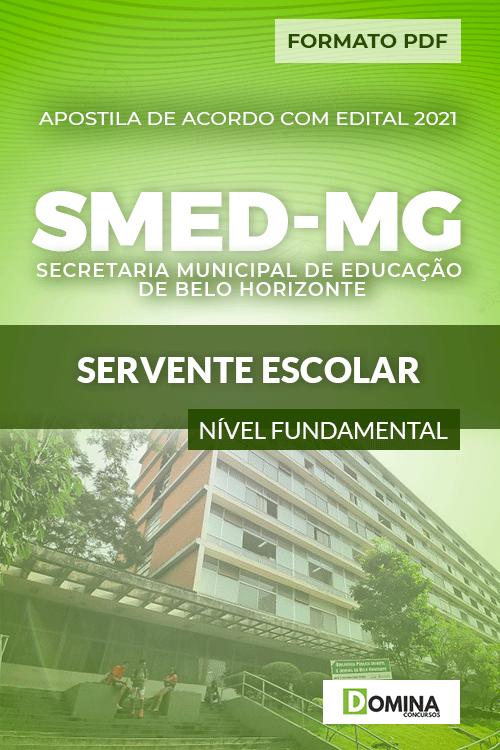 Apostila Processo Seletivo SMED MG 2021 Servente Escolar