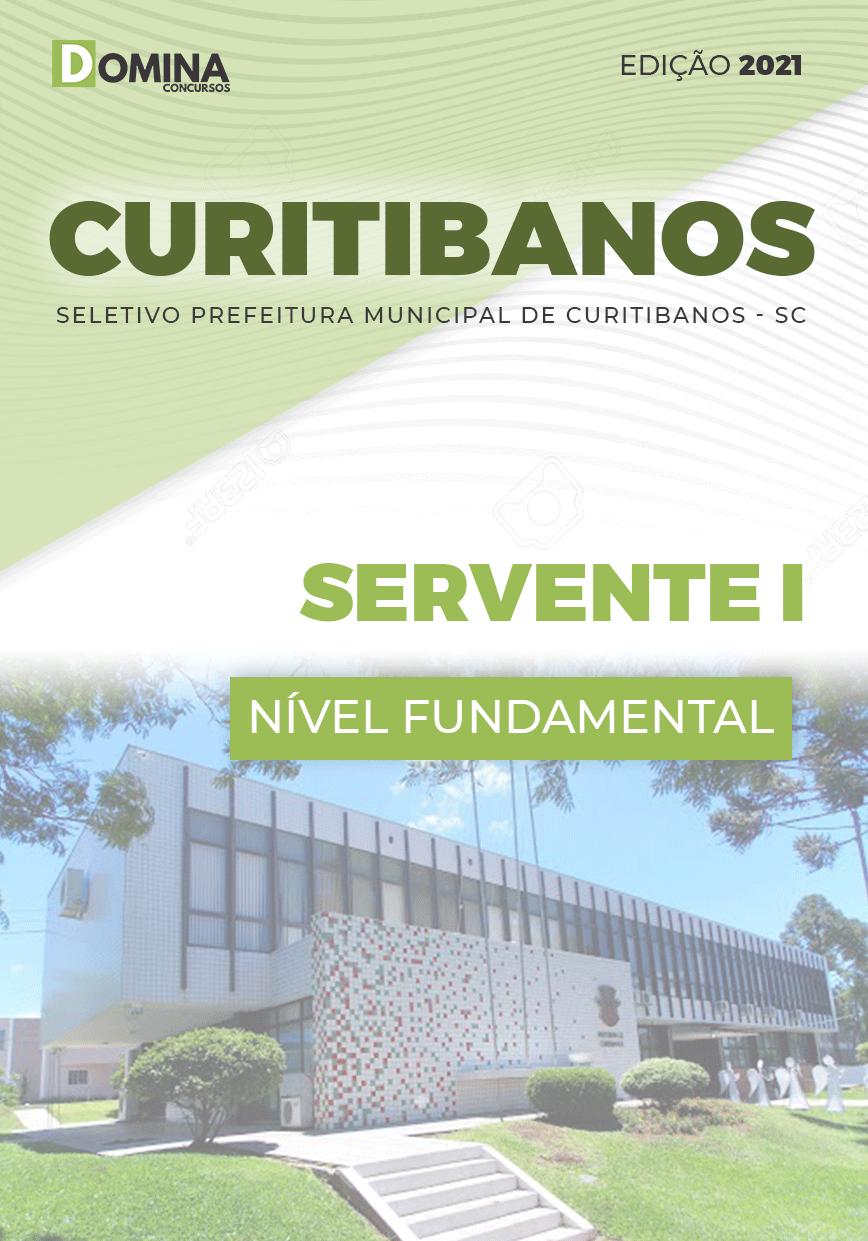 Apostila Prefeitura Curitibanos SC 2021 Servente I