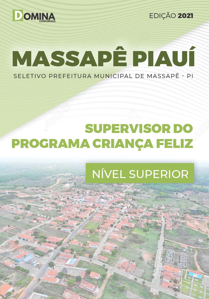 Apostila Pref Massapê Piauí PI 2021 Supervisor Programa Criança Feliz