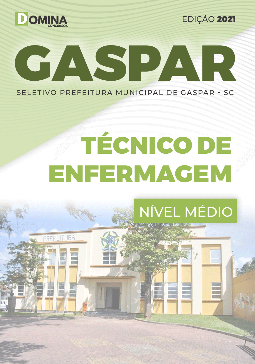 Apostila Seletivo Pref Gaspar SC 2021 Técnico de Enfermagem