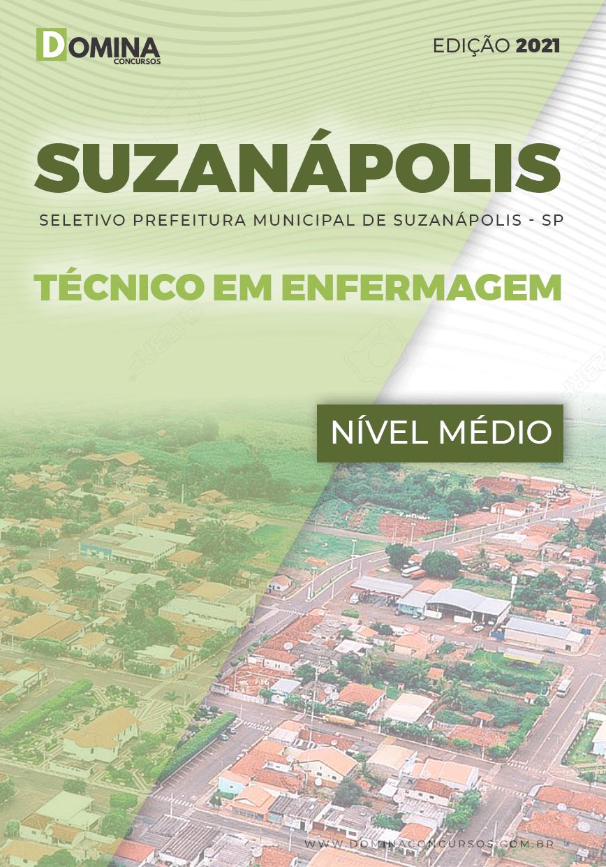 Apostila Pref Suzanápolis SP 2021 Técnico em Enfermagem
