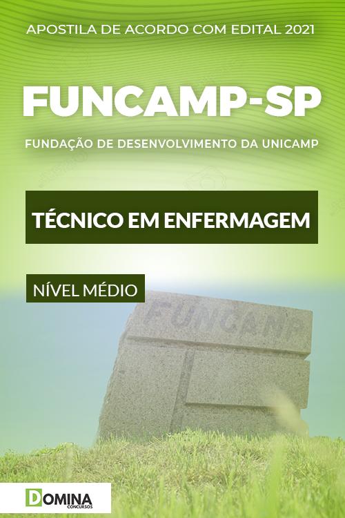 Apostila Seletivo FUNCAMP SP 2021 Técnico em Enfermagem