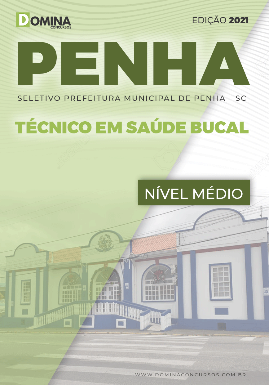 Apostila Seletivo Pref Penha SC 2021 Técnico em Saúde Bucal