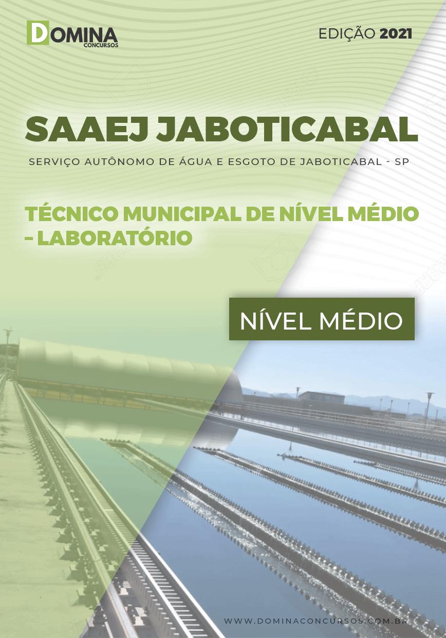 Apostila SAAEJ Jaboticabal SP 2021 Técnico de Laboratório