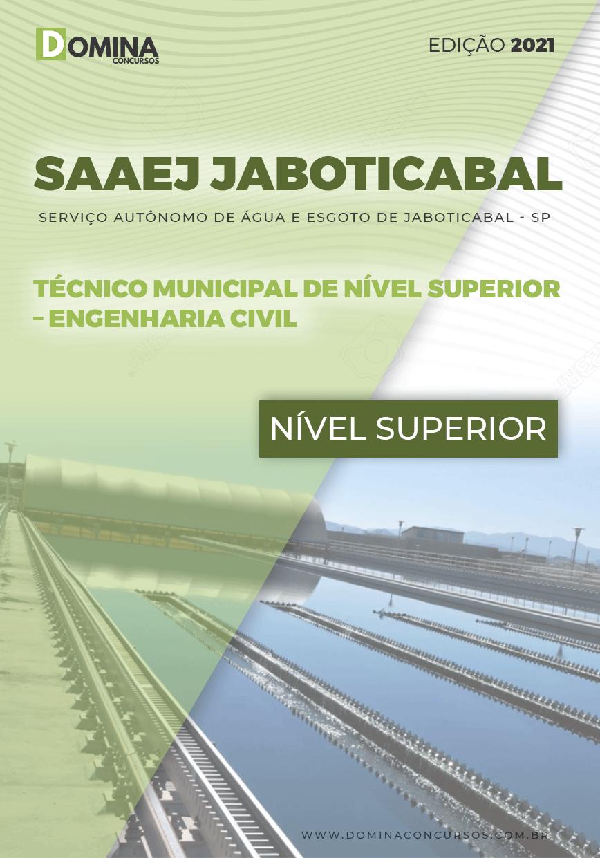 Apostila SAAEJ Jaboticabal SP 2021 Engenharia Civil