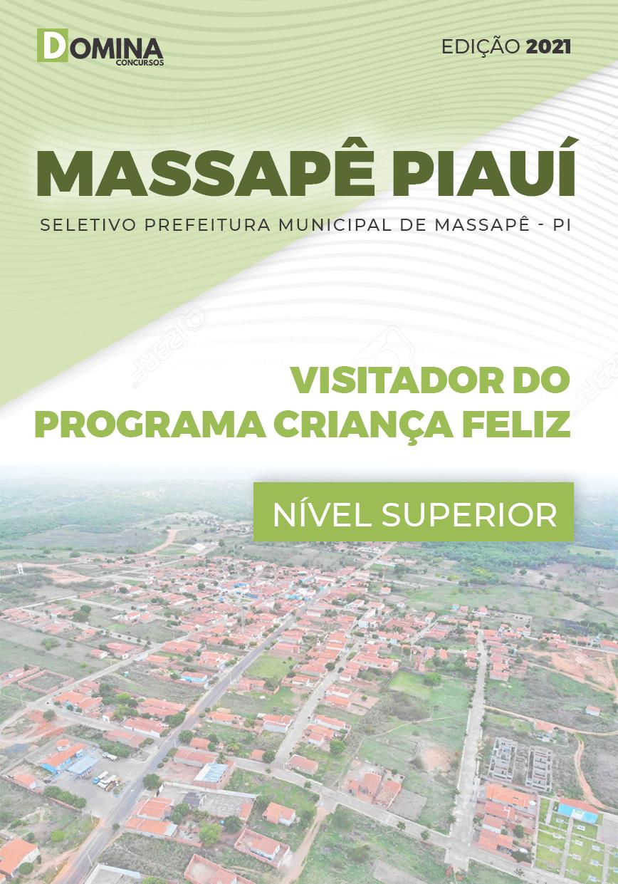 Apostila Pref Massapê Piauí PI 2021 Visitador Programa Criança Feliz