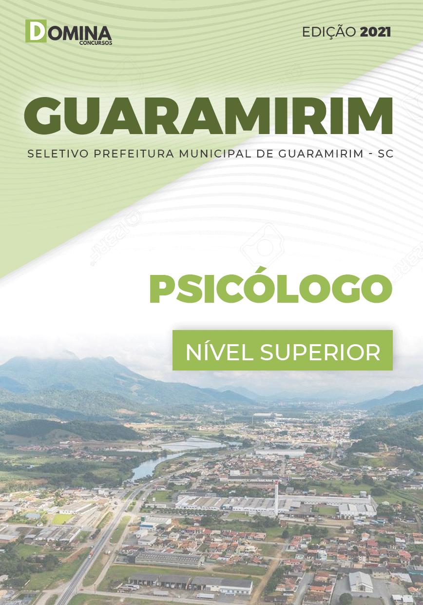Apostila Processo Seletivo Pref Guaramirim SC 2021 Psicólogo
