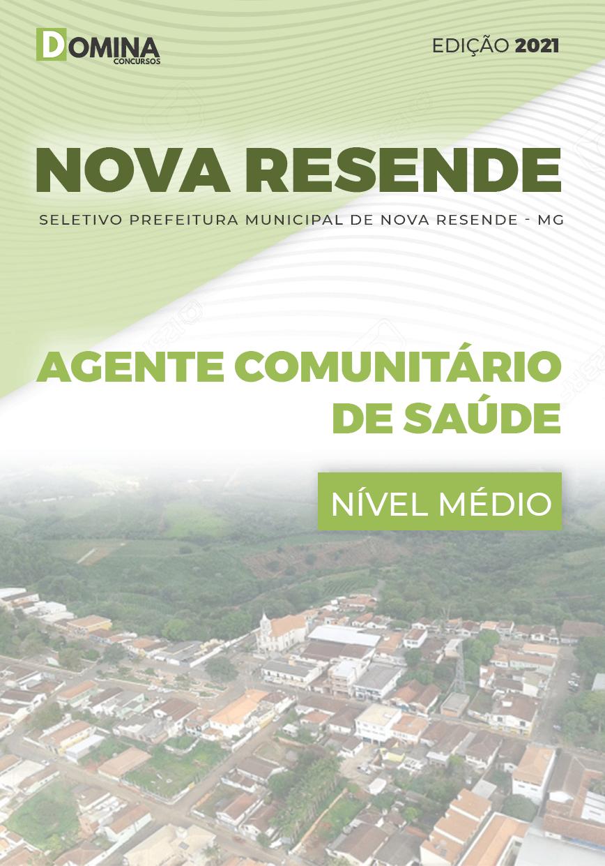 Apostila Pref Nova Resende MG 2021 Agente Comunitário de Saúde