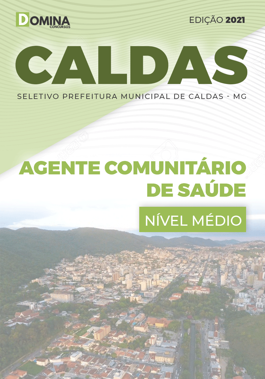Apostila Seletivo Pref Caldas MG 2021 Agente Comunitário de Saúde