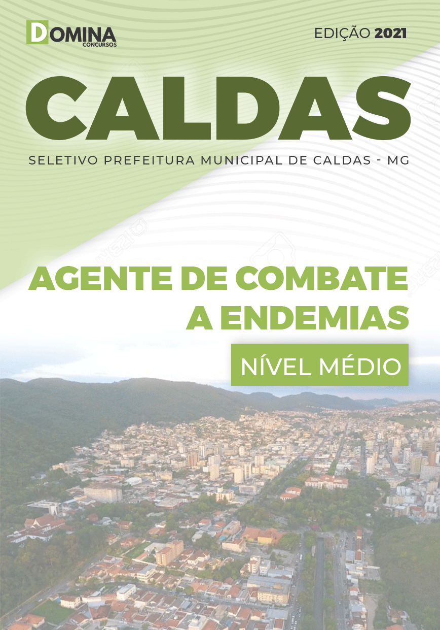 Apostila Seletivo Pref Caldas MG 2021 Agente Combate a Endemias