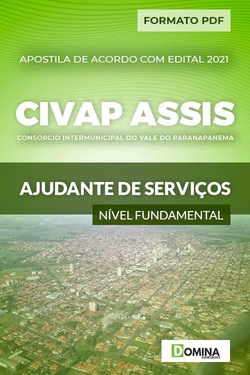 Apostila Seletivo CIVAP de Assis SP 2021 Ajudante de Serviços