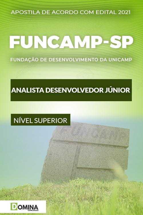 Apostila Seletivo FUNCAMP SP 2021 Analista Desenvolvedor Júnior