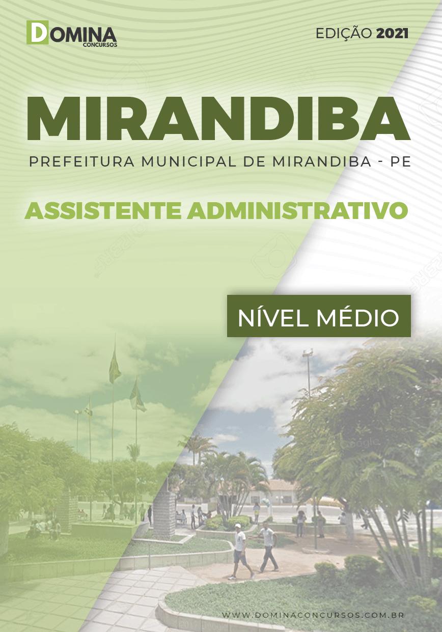Apostila Pref Mirandiba PE 2021 Assistente Administrativo