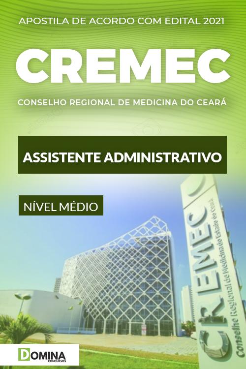 Apostila Concurso CREMEC CE 2021 Assistente Administrativo