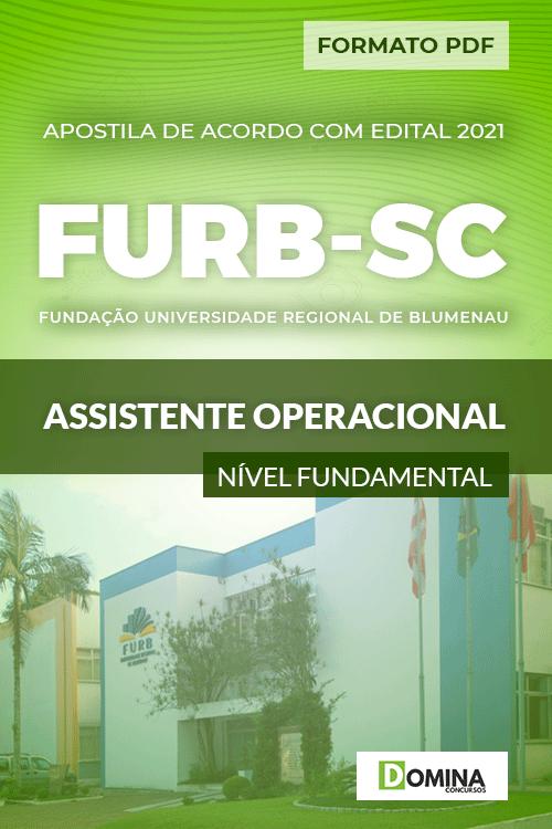 Apostila Seletivo FURB SC 2021 Assistente Operacional