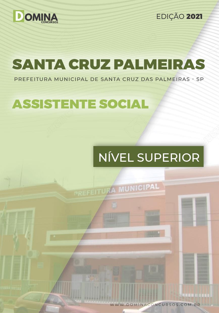 Apostila Santa Cruz das Palmeiras SP 2021 Assistente Social