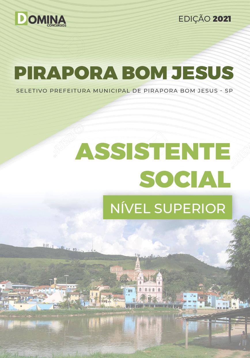 Apostila Pref Pirapora do Bom Jesus SP Assistente Social