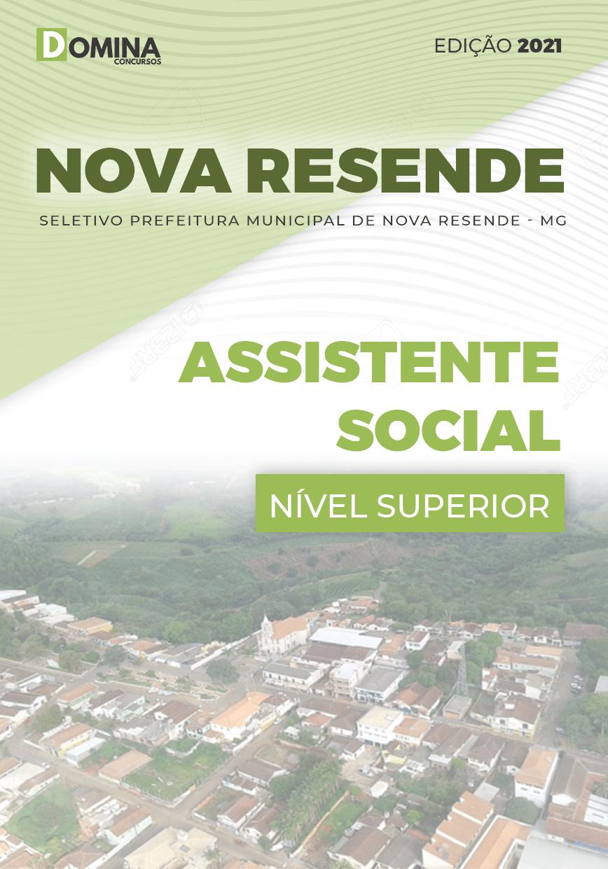 Apostila Pref Nova Resende MG 2021 Assistente Social
