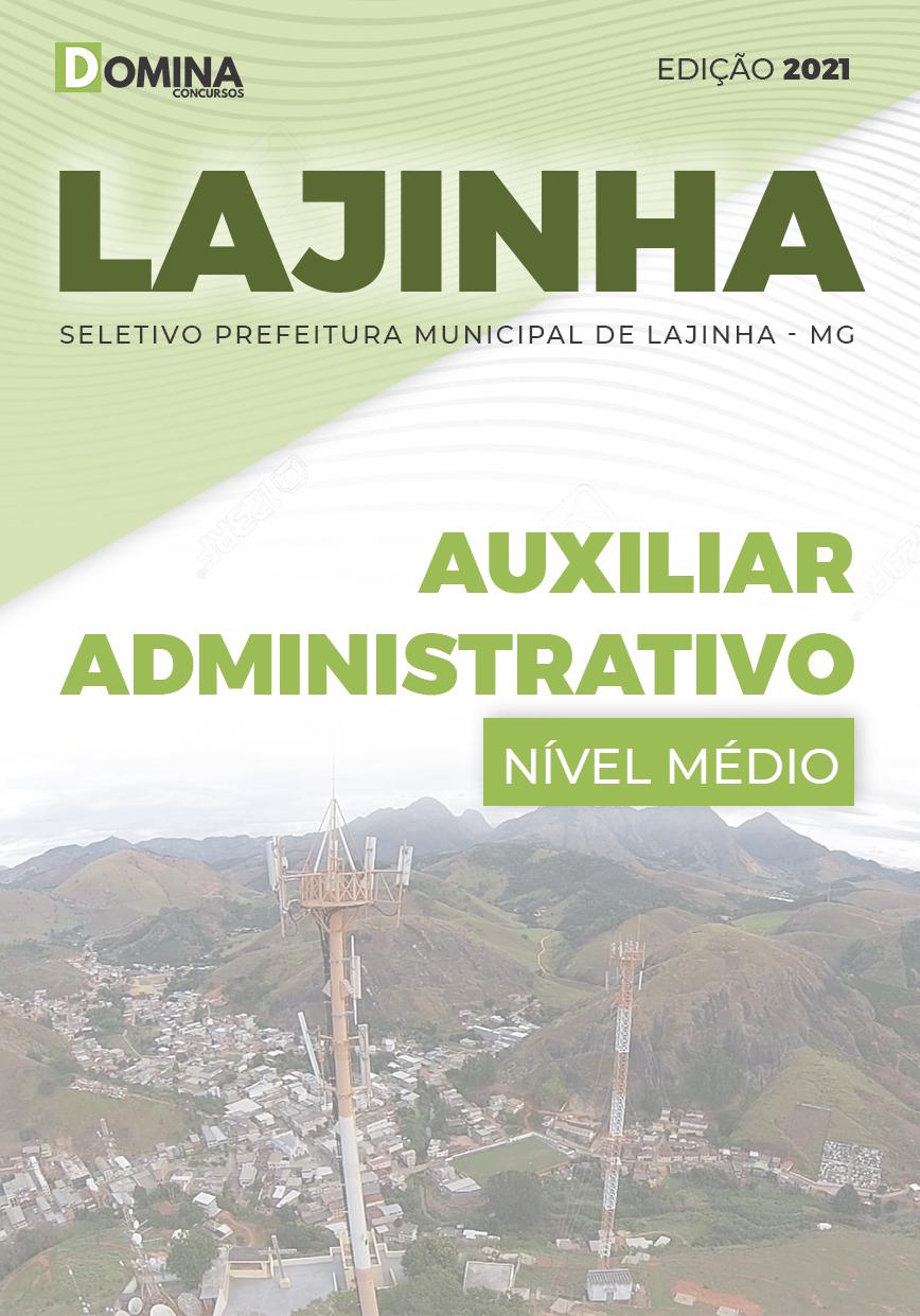 Apostila Seletivo Pref Lajinha MG 2021 Auxiliar Administrativo