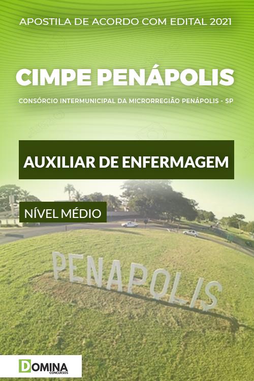 Apostila Concurso CIMPE Penápolis SP 2021 Auxiliar de Enfermagem