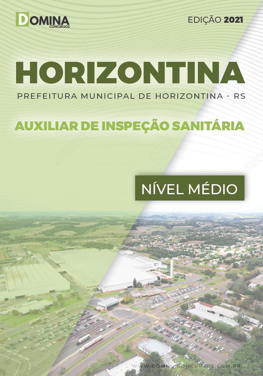 Apostila Pref Horizontina RS 2021 Auxiliar de Inspeção Sanitária