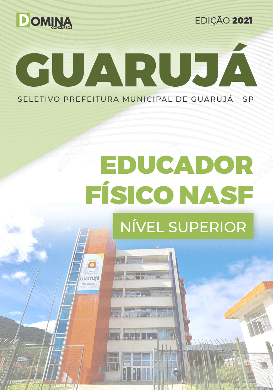 Apostila Seletivo Pref Guarujá SP 2021 Educador Físico NASF