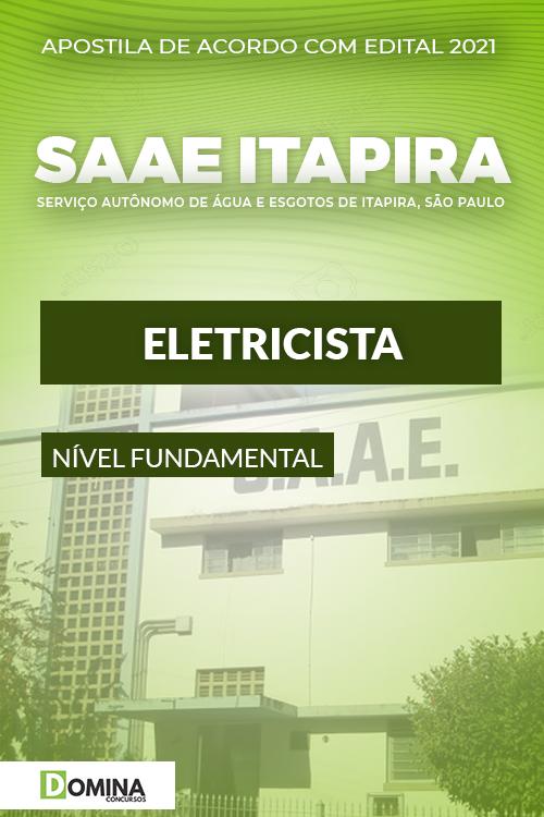 Apostila Concurso Público SAAE de Itapira SP 2021 Eletricista